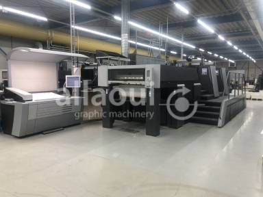 Heidelberg XL 106-2-P 18k  used