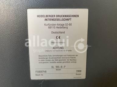 Heidelberg XL 105-8-P Picture 11