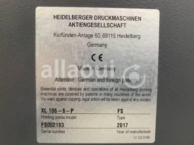 Heidelberg XL 106-8-P 18k LED UV Picture 14
