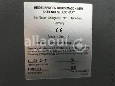 Heidelberg XL 106-2-P 18k  Picture 15