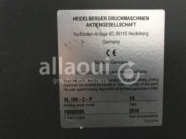 Heidelberg XL 106-2-P 18k  Picture 14