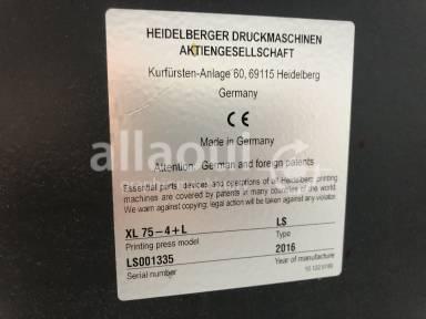 Heidelberg XL 75-4+L (C) Picture 11