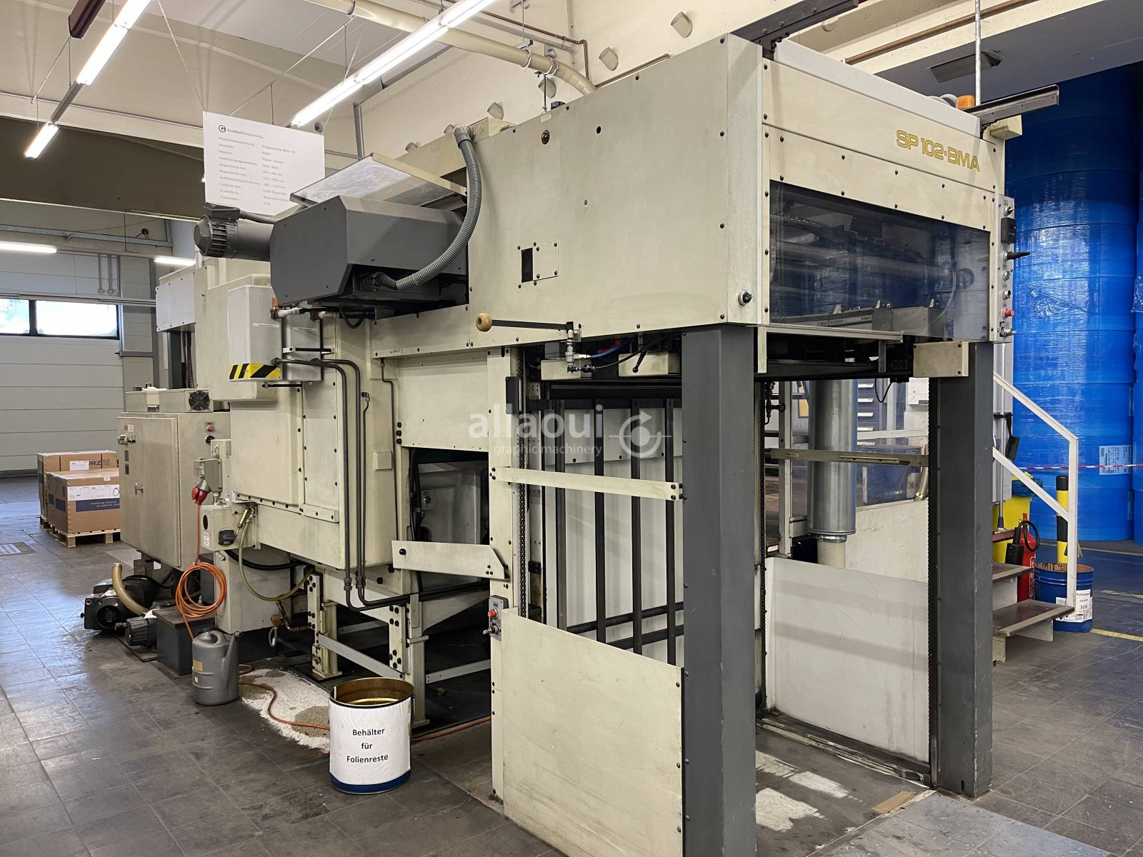 Bobst SP 102 BMA Picture 1