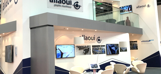 Allaoui Exhibition Drupa 2016
