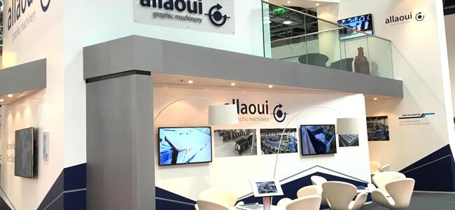Allaoui Exhibition Drupa 2016